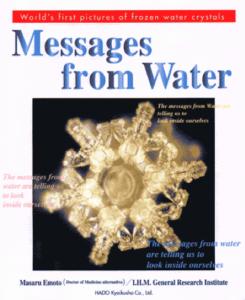 Książka Masaru Emoto - angielska okładka